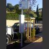 Poteau d'arrêt de bus HELIANTHE