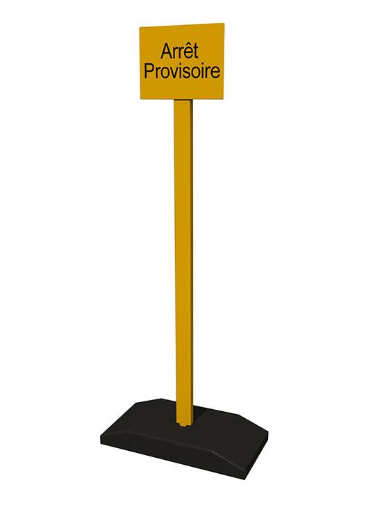 A saisir – déstockage Poteaux provisoires BASIC